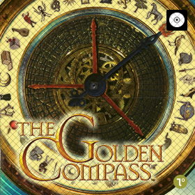 Golden Compass DVD Bordspel